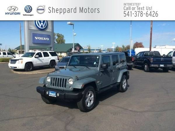 2014 Jeep Wrangler Unlimited 4WD 4dr Sahara SUV Wrangler Unlimited...