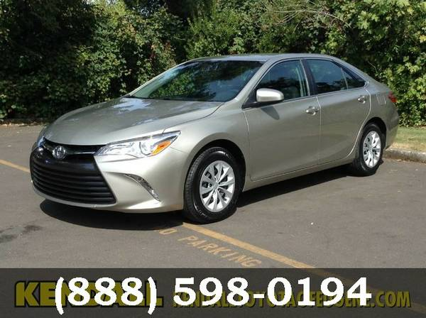 2015 Toyota Camry GOLD Great price!