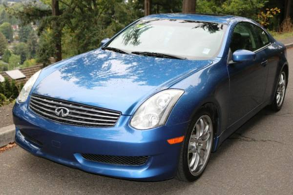 2006 *INFINITI* *G* *Base* G35 COUPE 2D