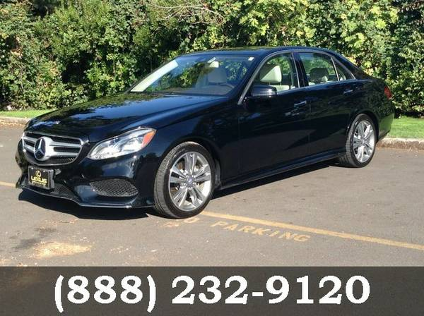 2014 Mercedes-Benz E-Class Black SEE IT TODAY!