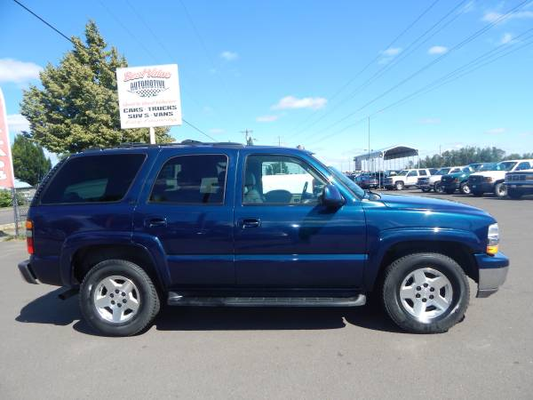 2005 CHEVROLET TAHOE LT 4X4. *136,030 MILES* BLOW OUT PRICE,