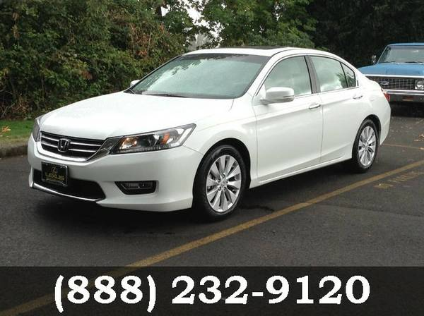 2013 Honda Accord Sdn White Orchid Pearl Call Today**BIG SAVINGS**