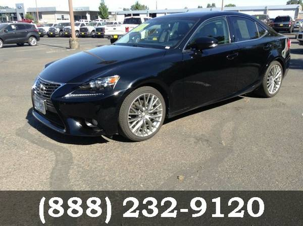 2014 Lexus IS 250 Obsidian Best Deal!!!
