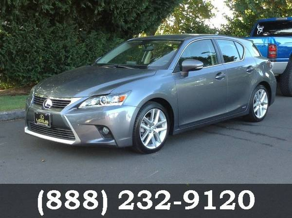 2014 Lexus CT 200h Nebula Gray Pearl BIG SAVINGS!