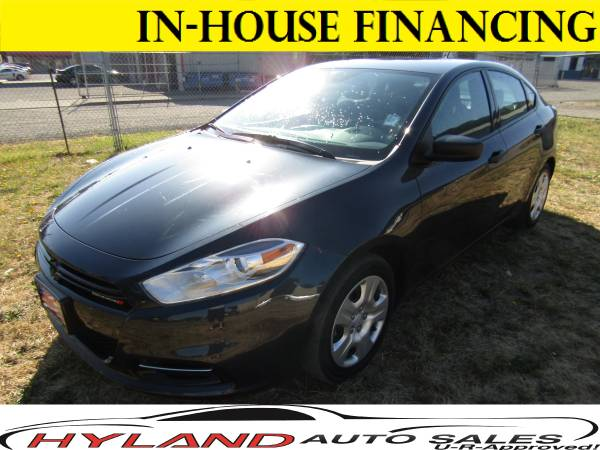 2014 DODGE DART *ONLY 22,585 MILES* U-R APPROVED !!@HYLAND AUTO SALES