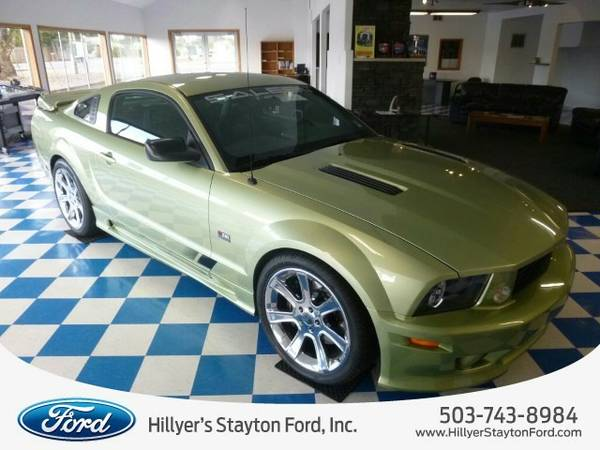 2006 Ford Mustang Saleen Coupe Mustang Ford