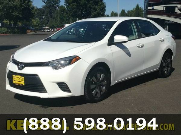 2015 Toyota Corolla PER MFG Good deal!***BUY IT***