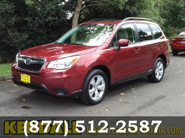 2015 Subaru Forester Venetian Red Pearl FOR SALE - GREAT PRICE!!