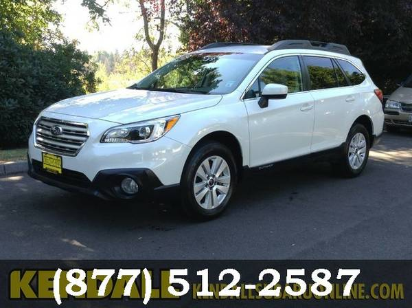 2015 Subaru Outback Crystal White Pearl **Awesome Online Price!**