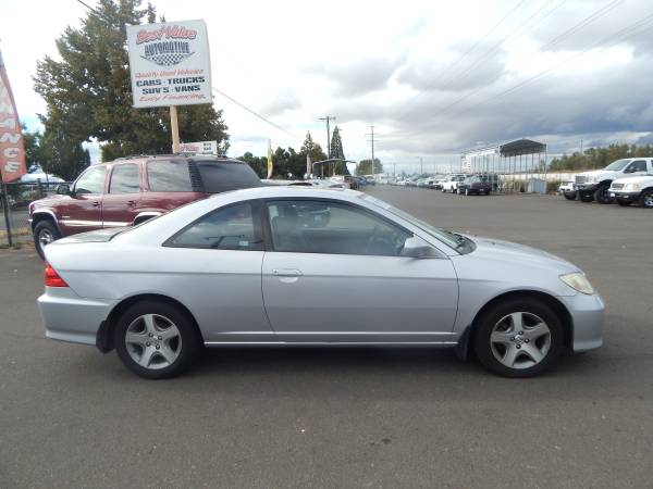 2004 HONDA CIVIC 2D EX. *FINANCING AVAILABLE*