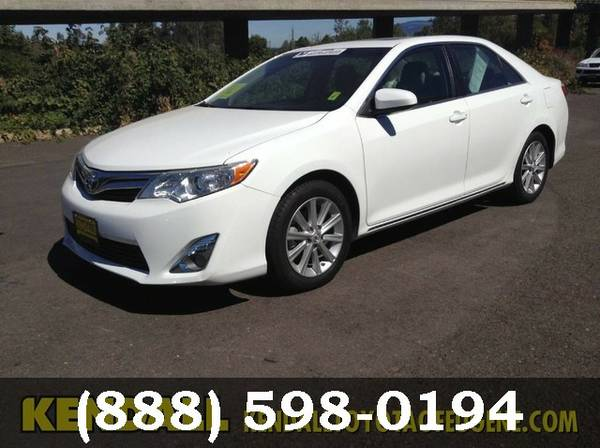 2014 Toyota Camry Super White Great Deal**AVAILABLE**