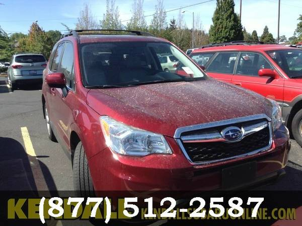 2014 Subaru Forester Venetian Red Pearl PRICED TO SELL!