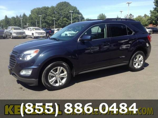 2016 Chevrolet Equinox Patriot Blue Metallic GO FOR A TEST DRIVE!