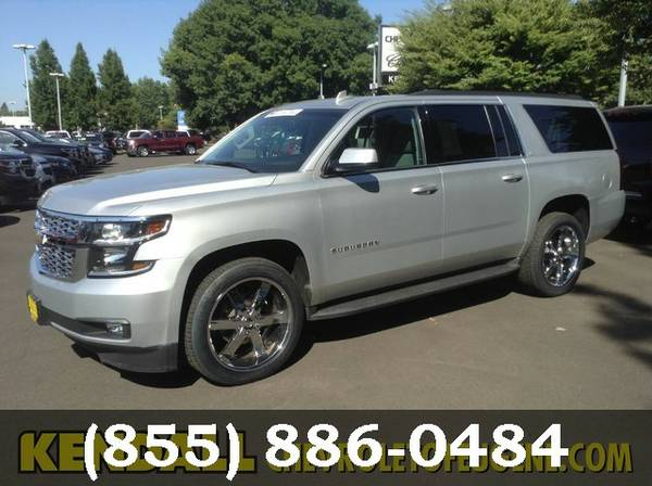 2015 Chevrolet Suburban Silver Ice Metallic **For Sale..Great DEAL!!