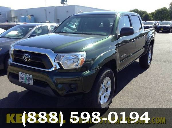 2013 Toyota Tacoma GREEN SPRUCE MICA Low Price..WOW!