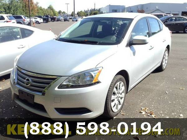 2015 Nissan Sentra SILVER *WHAT A DEAL!!*