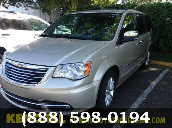 2015 Chrysler Town & Country BEIGE *BUY IT TODAY*