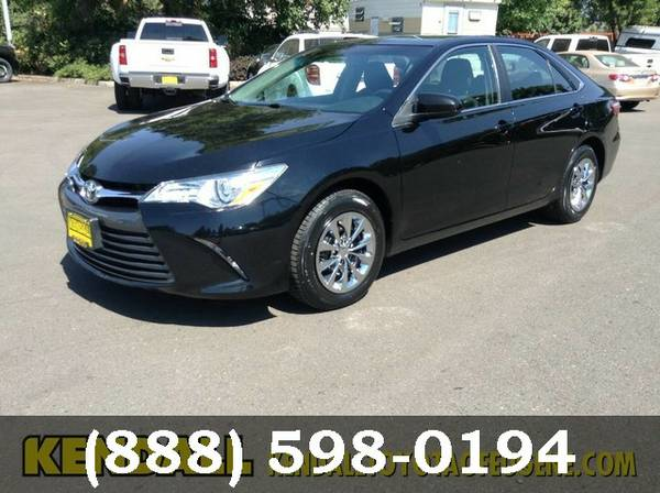2015 Toyota Camry BLACK SEE IT TODAY!