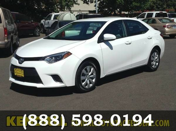 2015 Toyota Corolla PER MFG WOW... GREAT DEAL!