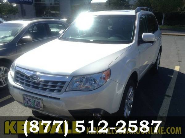 2013 Subaru Forester Satin White Pearl *SAVE NOW!!!*
