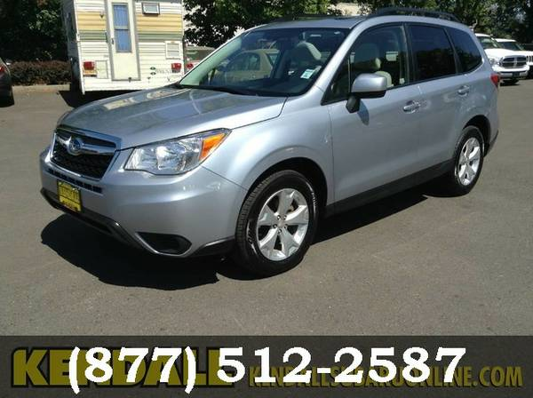 2015 Subaru Forester Ice Silver Metallic Big Savings.GREAT PRICE!!