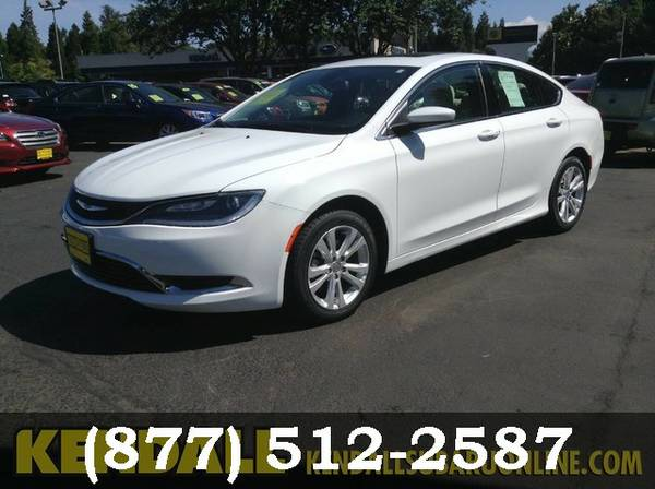 2015 Chrysler 200 Bright White Clearcoat Must See - WOW!!!