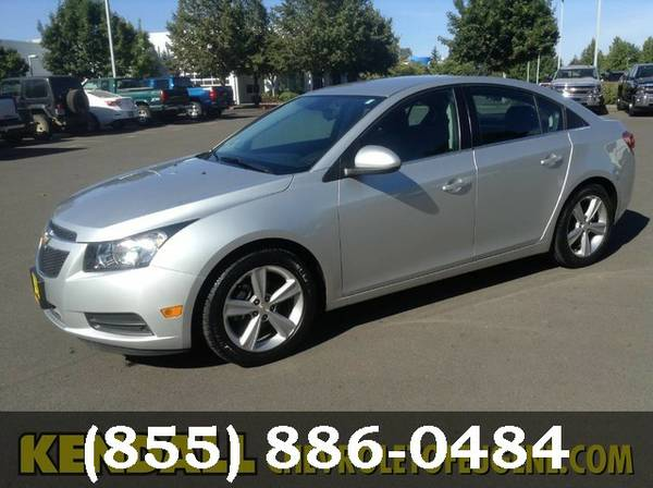 2014 Chevrolet Cruze Silver Ice Metallic Great Deal!