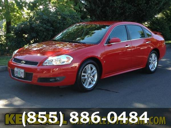 2009 Chevrolet Impala Victory Red Good deal!