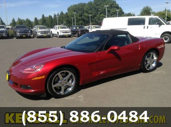 2008 Chevrolet Corvette Victory Red *BUY IT TODAY*