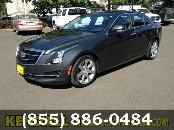 2016 Cadillac ATS Sedan Phantom Gray Metallic For Sale!