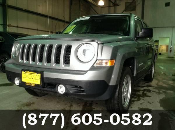 2015 Jeep Patriot SILVER Amazing Value!!!