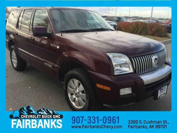 2008 Mercury Mountaineer LUXURY
