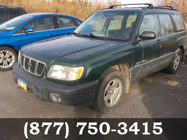 2002 Subaru Forester GREEN SEE IT TODAY!