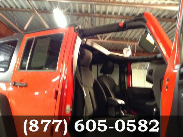 2015 Jeep Wrangler Unlimited MED RED **PRICED TO MOVE!!**