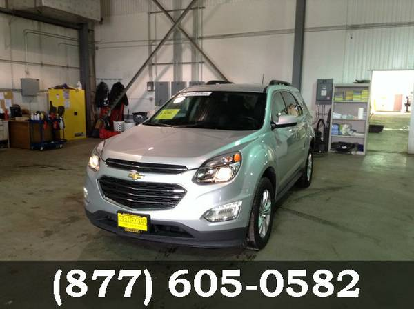 2016 Chevrolet Equinox SILVER Low Price..WOW!