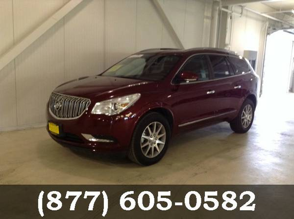 2016 Buick Enclave MED RED ON SPECIAL!
