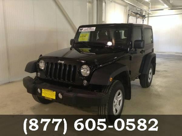 2014 Jeep Wrangler BLACK **PRICED TO MOVE!!**