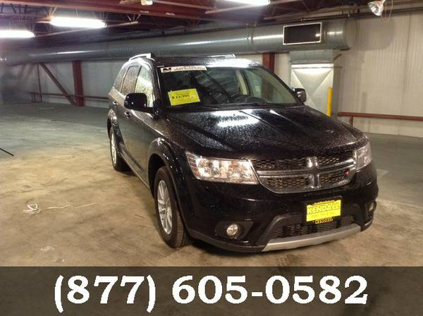 2016 Dodge Journey Pitch Black Clearcoat Must See - WOW!!!