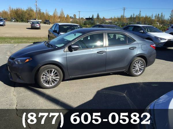 2015 Toyota Corolla 4Evergreen Mica Great Deal**AVAILABLE**