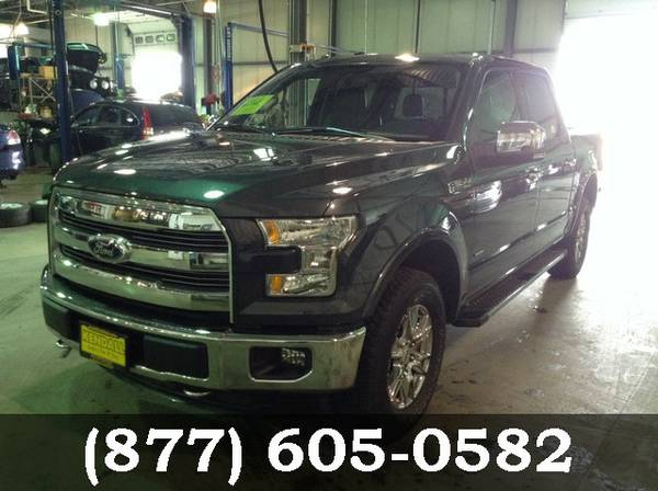 2015 Ford F-150 GREEN **Awesome Online Price!**