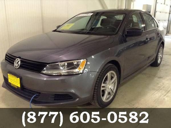 2014 Volkswagen Jetta Sedan Platinum Gray Metallic BIG SAVINGS!