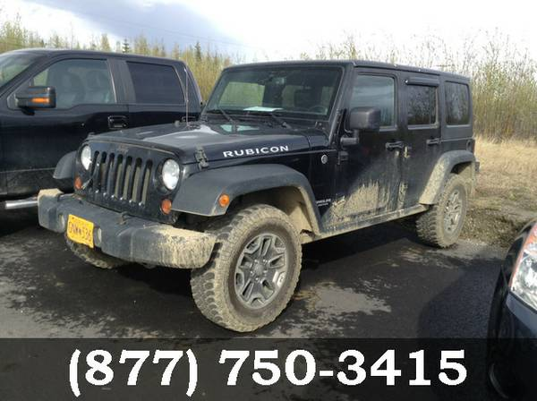 2013 Jeep Wrangler Unlimited Black *SPECIAL OFFER!!*