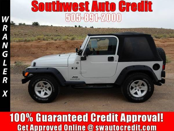2005 Jeep Wrangler X 2dr 4WD SUV *IN HOUSE FINANCING*