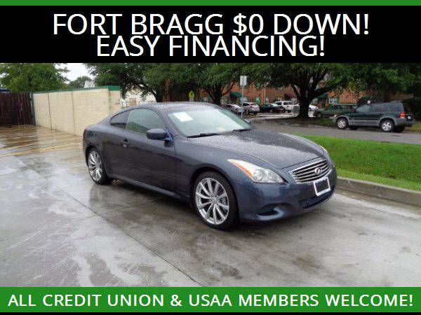 ★2008 Infiniti G37 Coupe Sport★$0 DOWN MILITARY FINANCING