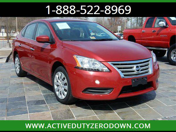 2014 NISSAN SENTRA SV Military Financing ===