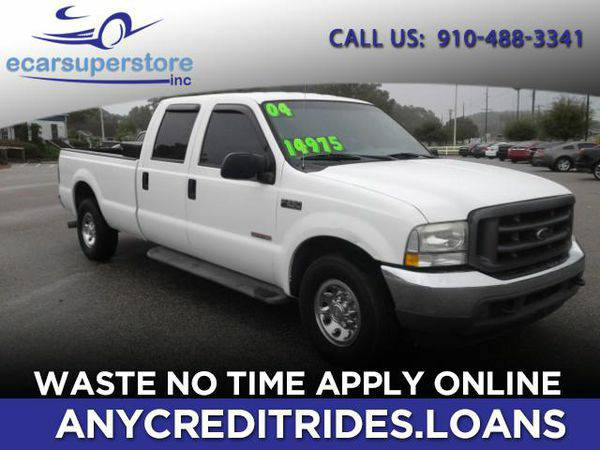 2004 *Ford* *F-250* *SD* XL Crew Cab 2WD You're Approved or Car is