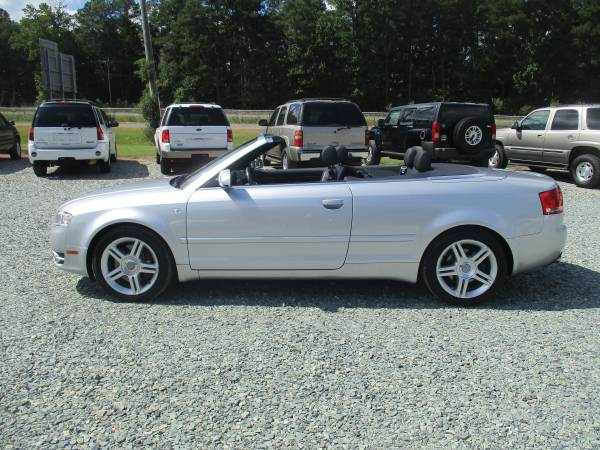 2007 Audi A4 Quattro Convertible, 2.0L Turbo 4cyl, Leather, 94K, Navi!