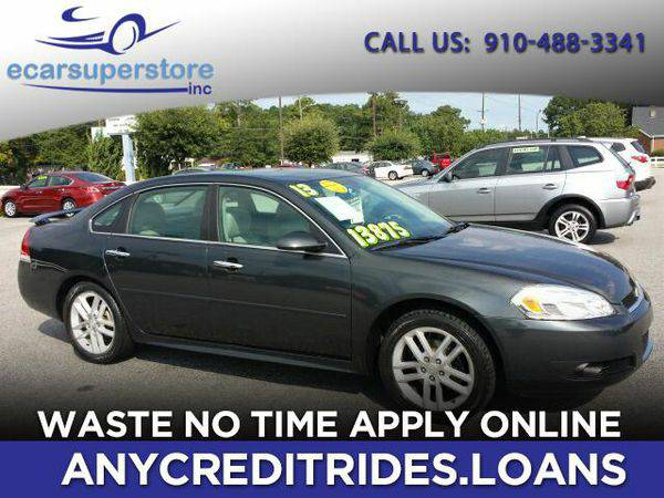 2013 *Chevrolet* *Impala* LTZ You're Approved or Car is *Free*