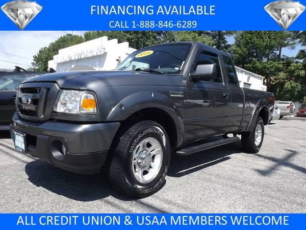 2011 FORD RANGER SPORT SUPERCAB GREY