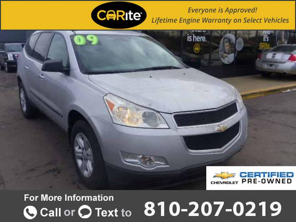 2009 *Chevrolet* *Chevy* *Traverse* *FWD* *4dr* *LS* 113k miles